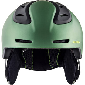 Alpina Spine Ski Helmet moss-green matt